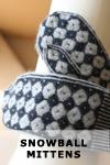 Snowball Mittens