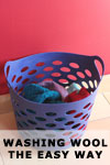 Washing Wool the Easy Way
